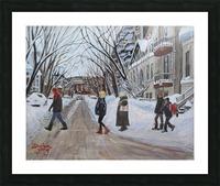 Milton Street McGill Ghetto Scene Picture Frame print