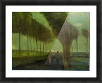 Country Lane by Van Gogh Picture Frame print