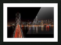 Spin City Picture Frame print