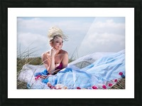 Summer Breeze Picture Frame print