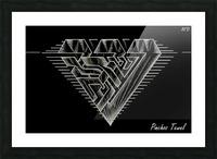 Monogram Art   Diamond AAA  2 Picture Frame print