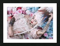 Sleeping Beauty Picture Frame print
