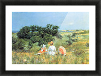 The Tale by William Merritt Chase Picture Frame print