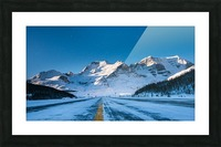 Columbia Ice Fields Canada. Picture Frame print