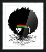 Black History Picture Frame print