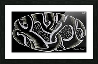 monogram ART   YIMTZA AA Picture Frame print