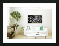 monogram art  YIMTZA   -FOR DISPLAY ONLY Picture Frame print