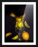 Fraicheur.  Picture Frame print