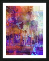 Abstract - Inadvertent Prevaricator Picture Frame print