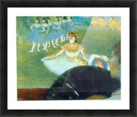 Dance with Bouquet by Degas Picture Frame print