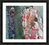 Death and Life by Klimt Picture Frame print