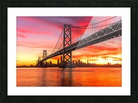 Grandmaster Picture Frame print
