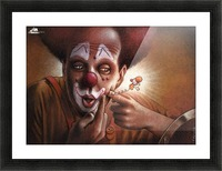 clown Picture Frame print