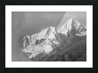 whitewater mountain 1 of 1 Picture Frame print