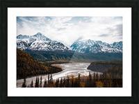 Autumn Landscape Picture Frame print