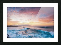 Easy Evening Picture Frame print