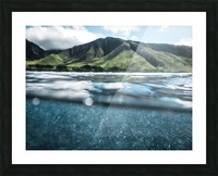 Land and Sea Picture Frame print