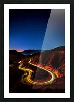 Highway to Hell Picture Frame print