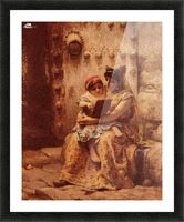 The Reading Lesson Picture Frame print