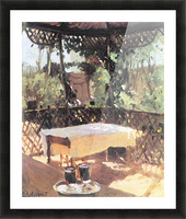 Two wine glasses by John Singer Sargent Picture Frame print