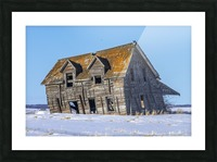 Abandoned Farm House Picture Frame print