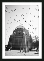 The Tomb of Shah Rukn-e-Alam in Multan Pakistan Picture Frame print