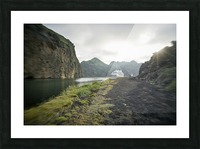 Heimaey Island Picture Frame print