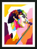 Liam Gallagher Picture Frame print