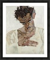 Egon Schiele - Self-Portrait Picture Frame print