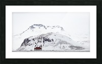 Distant Iceland Church Picture Frame print