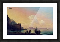 Bay of Naples Picture Frame print