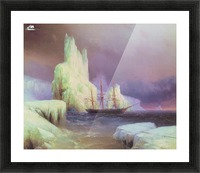 Icebergs in Antarctica Picture Frame print