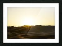Erg Chebbi at Sunset Picture Frame print