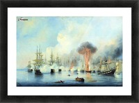 Battle of Sinop Picture Frame print