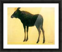 Elk by Bierstadt Picture Frame print