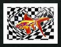 The Fish Picture Frame print