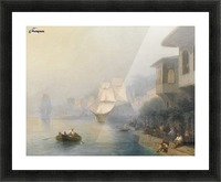 View of the Bosporus Picture Frame print