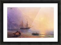Loading Provisions off the Crimean Coast Picture Frame print