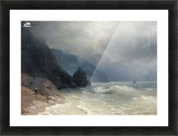 View of the sea Picture Frame print