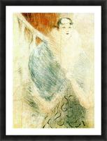 Elsa dite la Liennoise by Toulouse-Lautrec Picture Frame print