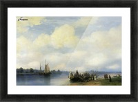 Arrival of Peter I on the Neva Picture Frame print
