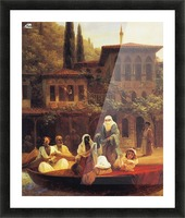 Boat Ride by Kumkapi in Constantinople Picture Frame print