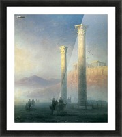 The Acropolis of Athens Picture Frame print