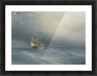 Out in the sea Picture Frame print