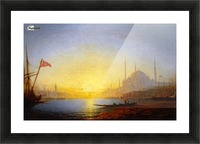 View of Constantinople Picture Frame print