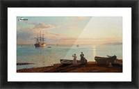 Sea view Picture Frame print