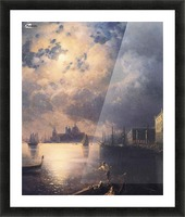 Byron in Venice Picture Frame print