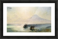 Dejection of Noah from mountain Ararat Picture Frame print
