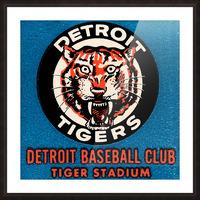 1963 Detroit Tigers Vintage Baseball Club Picture Frame print
