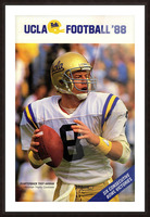 1988 Troy Aikman UCLA Football Poster Picture Frame print